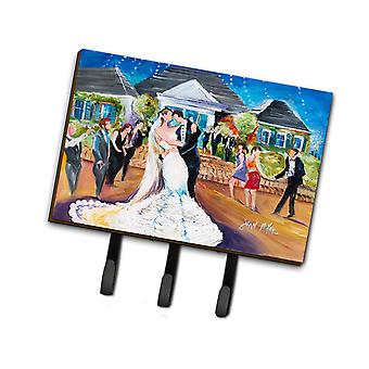 Carolines Treasures  JMK1127TH68 Our Wedding Day Leash or Key Holder