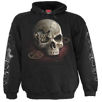 Spiral Direct Gothic STEAM PUNK BANDIT - Kids Hoody Black|SteamPunk|Skeleton|Gun