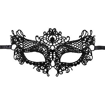 Glamorous eye mask in lace for party & Halloween