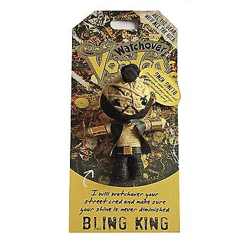 Watchover Voodoo Dolls Bling King Voodoo Keyring