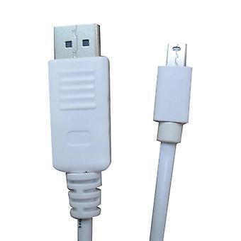 Mini DisplayPort إلى DisplayPort كابل الذكور الذكور 2M