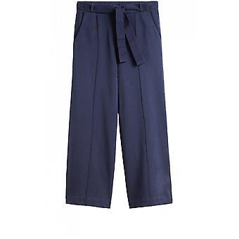 Sandwich Clothing Navy Wide Leg Culottes