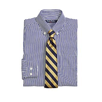 Brooks Brothers Boys' Non Iron Striped Shirt