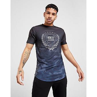 New Supply & Demand Men's Fuse Short Sleeve T-Shirt Black