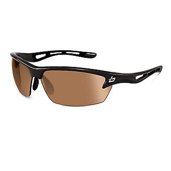 Bolle Golf B-Clear Bolt Sunglasses (Photo V3 Golf oleo AF Lens Shiny Black Frame)