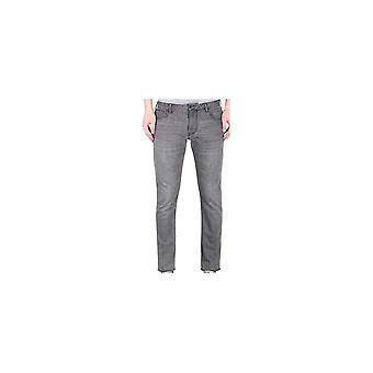 Emporio Armani J06-slim fit grijs jeans