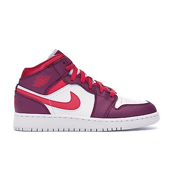 Air Jordan 1 Mid (Gs) - 555112-661 - Shoes