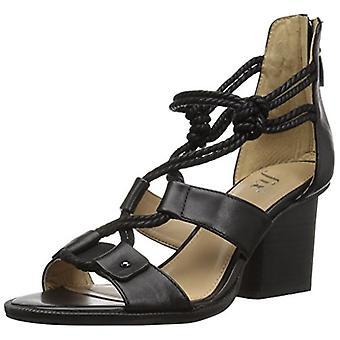 Brand - The Fix Women's Jackson Rope-Tie Block Heel Dress Sandal,Black...
