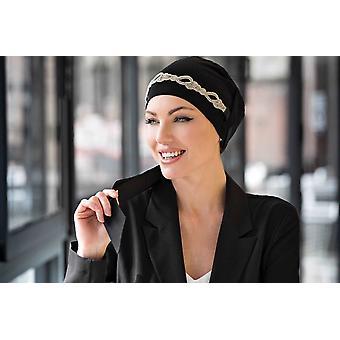 Yanna Black Diamond Vlecht sjaal