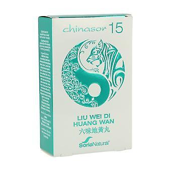 Chinasor 15 Liu Wei Di Huang Wan 30 comprimidos