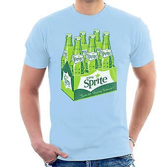 Geniet van Sprite 1960 logo krat heren T-shirt