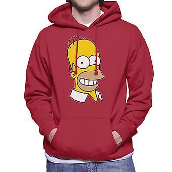The Simpsons glimlachende Homer mannen Hooded Sweatshirt