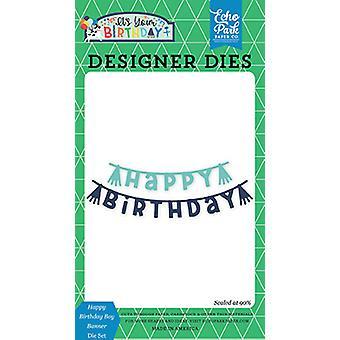 Echo Park Happy Birthday Boy Banner stirbt