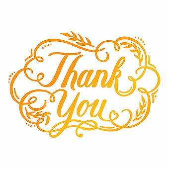 Ultimate Crafts Hotfoil Stamp Thank You (3.5 x 2.5in) (ULT158117)