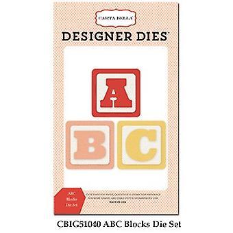 Carta Bella ABC Blocks Set Designer Dies
