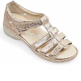 Padders Athena Kvinders Wide Fit Sandaler
