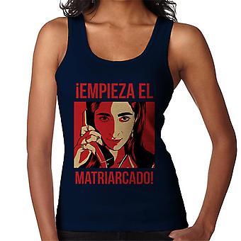 Empieza El matriarcado Money Heist naisten ' s Vest