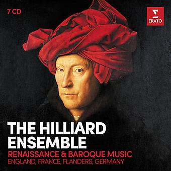 Hilliard Ensemble - Renaissance & Baroque Vocal Music [CD] USA import