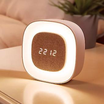 Smart x901 bedroom night light alarm clock touch sensor led digital snooze clock wake-up lamp from xiaomi youpin