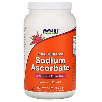 Now Foods, Sodium Ascorbate Powder, 3 lbs (1361 g)