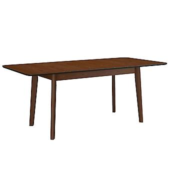 Adelaide Rectangular Dining Table - Walnut