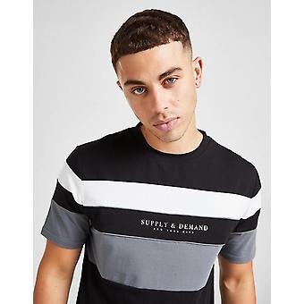 Nieuwe Supply & Demand Men's Virtue T-Shirt Zwart