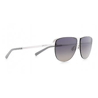 Sunglasses Unisex Sunset pilot silver/smoke