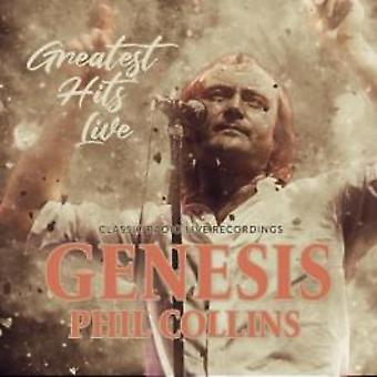 Greatest hits live / radio broadcast by genesis / phil collins