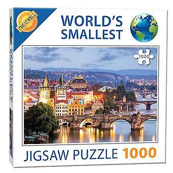 World's Smallest Jigsaw Puzzle - Prague Bridges (1000 Pieces)