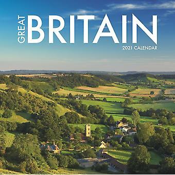 Britain Mini Square Wall Calendar 2021