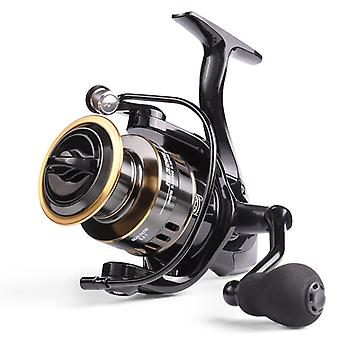 New Fishing Reel with Max Drag 10kg and Gear Ratio 5.2:1 High Speed Metal Spool