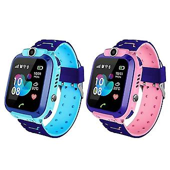 Q12 1.44 Pouce Écran tactile Lbs Positionnement Ip67 Kids Smart Talking Watch