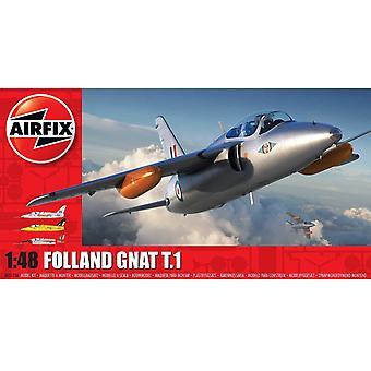 Airfix A05123A Folland Gnat T.1 Flugzeug