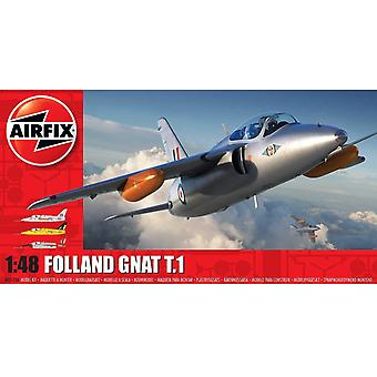 Airfix A05123A Folland Gnat T.1 Avion
