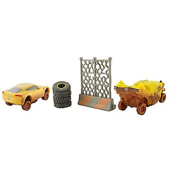 Disney Pixar Cars 3 Crazy 8 Crashers Taco & Cruz Ramirez Vehicles Pack