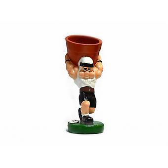 Worlds Strongest Man Official Plant Pot Gnome