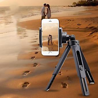 Mini Tripod Stand With Phone Clip Holder For Smartphone (6inch)