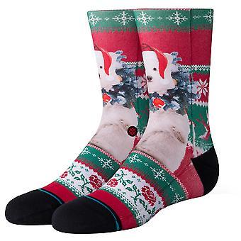 Stance Kids Pierre Polar Socks - Red