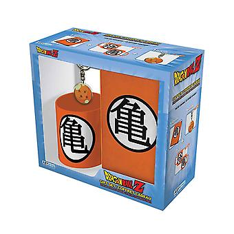Dragon Ball Z Mug Keyring and Notebook Kame Symbol new Official Gift Set