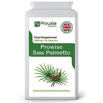Saw Palmetto Men Ace 2500mg 90 Capsules | Suitable For Vegetarians & Vegans | Made In UK