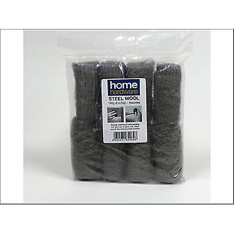 Home DIY (Paint Brushes) Steel Wool Assorted 8 x 20g 820898