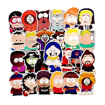 Autocollants Decor Anime South Park pour réfrigérateur, ordinateur portable, bagages