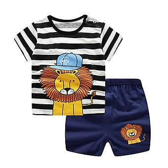 Baby Leisure Sports T-shirt + Shorts Sets Toddler Clothing