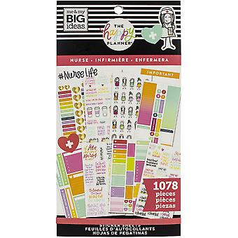 Happy Planner Sticker Value Pack-Nurse, 1078/Pkg