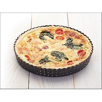 Kitchen Craft Master Class Crusty Bake Flan Tin 23 x 3cm KCMCCB37