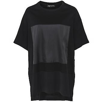NU Oversized Split Hem T-Shirt