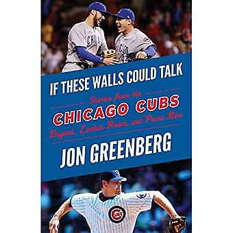 If These Walls Could Talk:� Chicago Cubs: Stories from� the Chicago Cubs Dugout, Locker Room, and Press Box