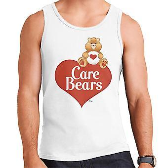 Care Bears Logo Tenderheart Bear Men's Vest