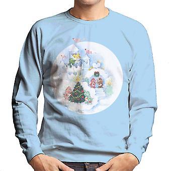 Care Bears Christmas Snow Castle Men's Sweatshirt