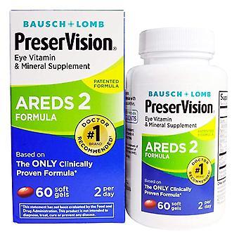Preservision eye vitamin, areds 2 formula, softgels, 60 ea